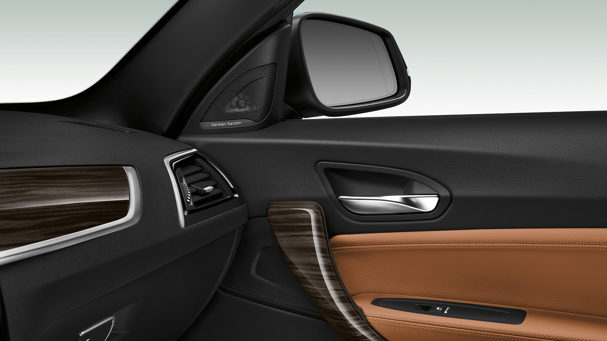 BMW 2 Series Convertible, side door panel
